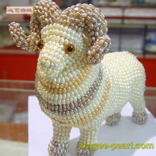 (山羊)珍珠工艺品GYP018-5
