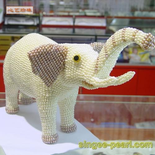 (大象)珍珠工艺品GYP018-7