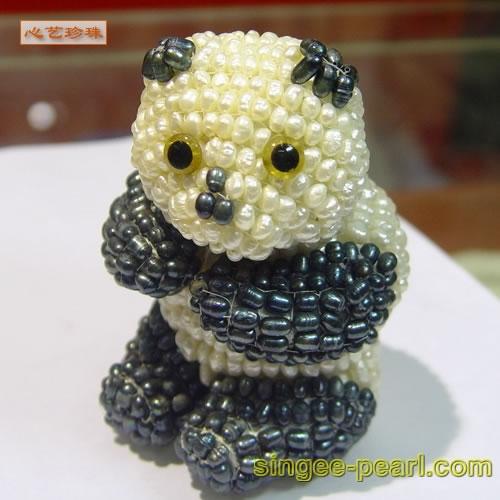 (大熊猫)珍珠工艺品GYP018-10