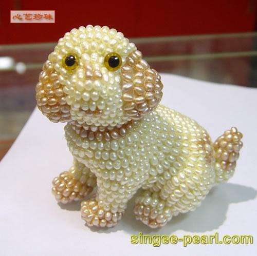 (狗)珍珠工艺品GYP018-11