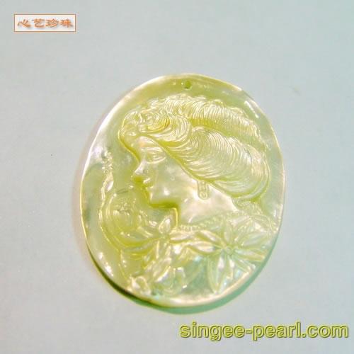 (女神)贝壳挂坠GZ018-28